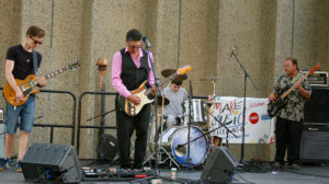 37th St. Blues Band perform at McGuane Park for Make Music Chicago 2016