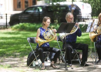 Make Music Chicago 2017 - Washington Square Park Horns