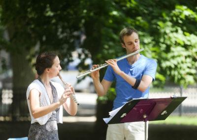 Make Music Chicago 2017 - Washington Square Park Flutes